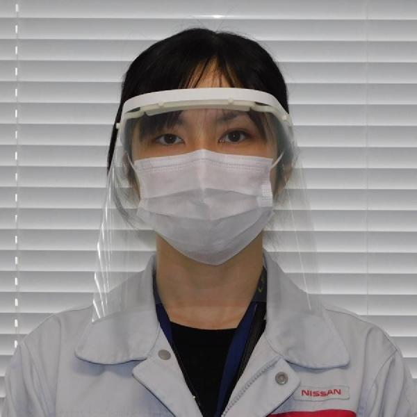 Nissan Produksi Face Shield Untuk Tim Medis di Jepang