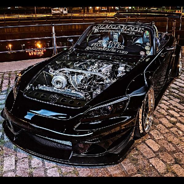 Black Pearl Street Racing, Modifikasi Honda Roadster S2000 Bertenaga 634 HP