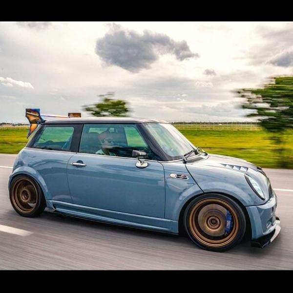 Mini Cooper yang Tak Lagi Calm, Selain Swap, Tampak Beringas dengan Gaya Street Racing