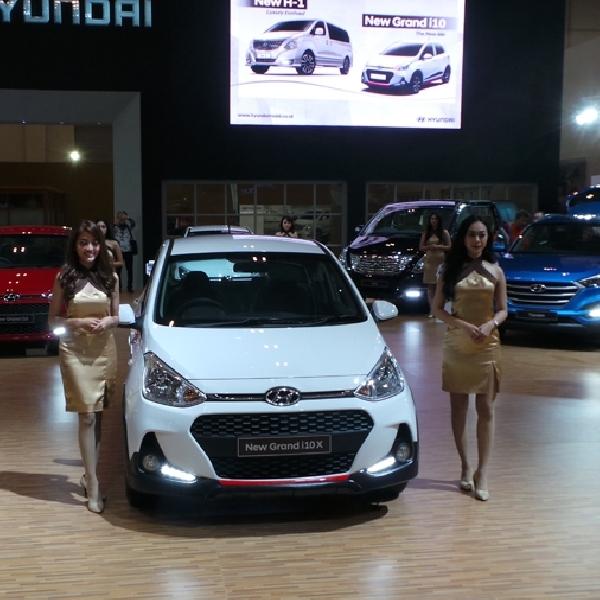 GIIAS 2017: Hyundai H-1 dan Hyundai Grand i10 Facelift Resmi Dikenalkan