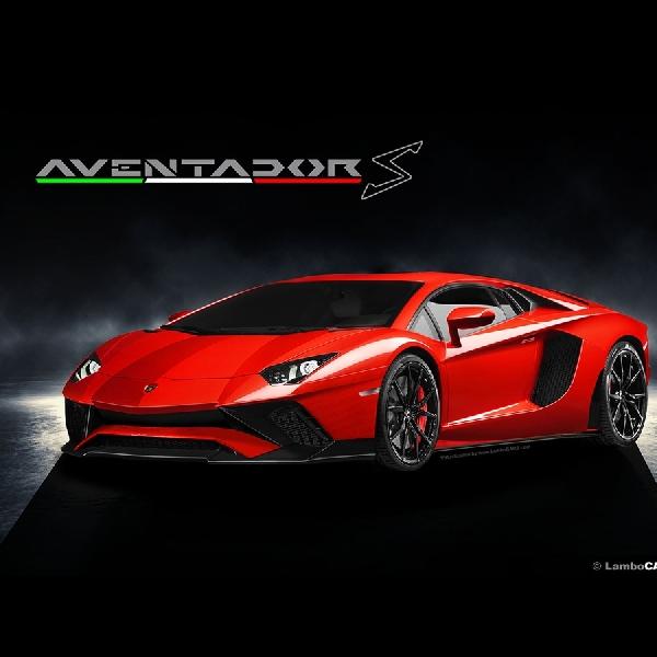 Inikah Tampilan Lamborghini Aventador S?