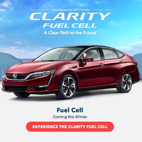 Honda Clarity Fuel Cell Klaim Jarak Tempuh Terjauh