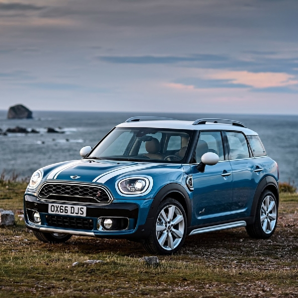 New Mini Countryman Gunakan Plug-in Hybrid