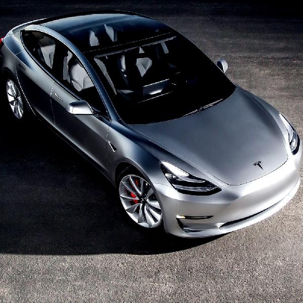 30 unit Tesla Model 3 Masuk Jalur Produksi pada Bulan ini