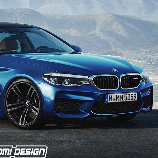 Render Digital BMW M5 dari X-Tomi
