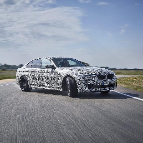 BMW M5: Resmi Bertenaga 600 HP dengan xDrive
