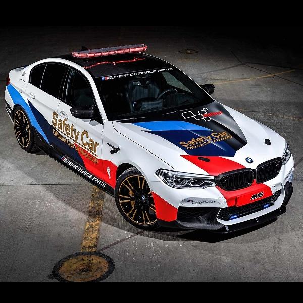 BMW M5 2018 Menjadi Safety Car MotoGP dengan 592 hp