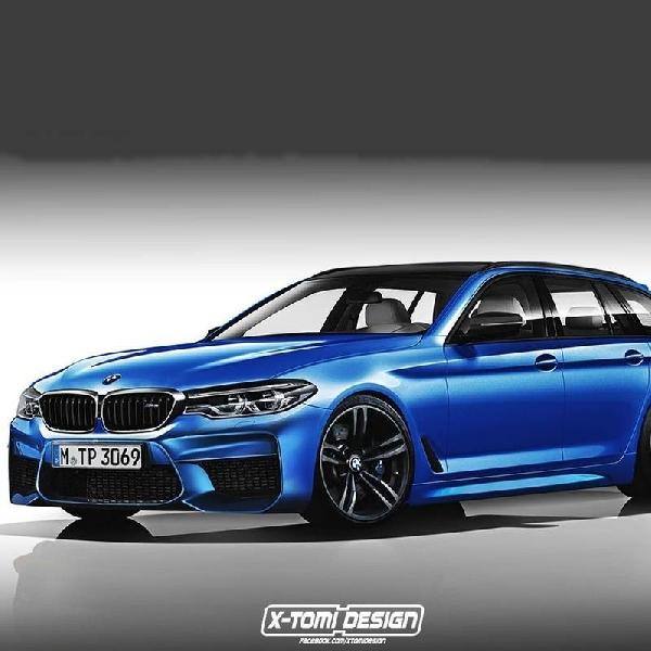 Modifikasi BMW M5 Touring  dengan Tampilan Sporty