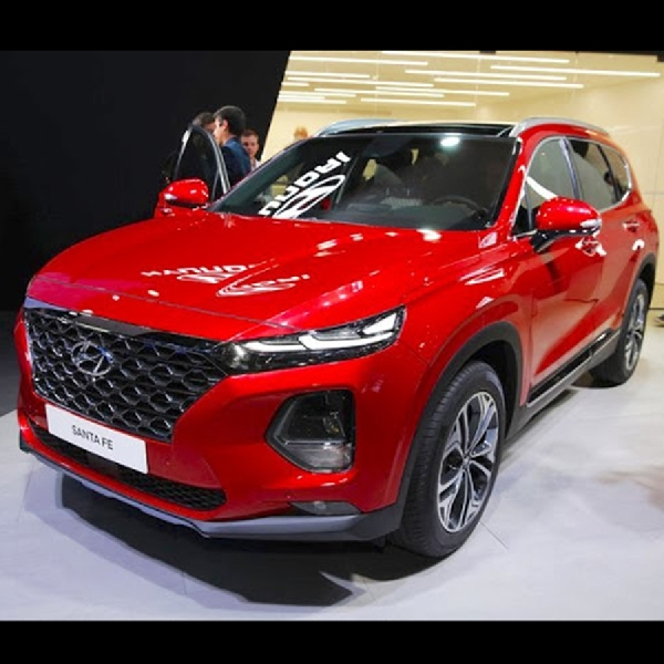 Ini Dia All New Hyundai Santa Fe, Calon Lawan Kuat All New Mazda CX-9