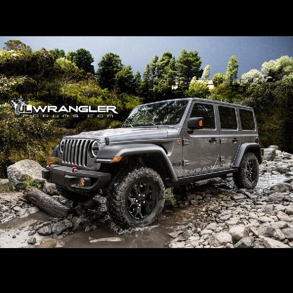 Inilah Bocoran Jeep Wrangler Generasi Keempat