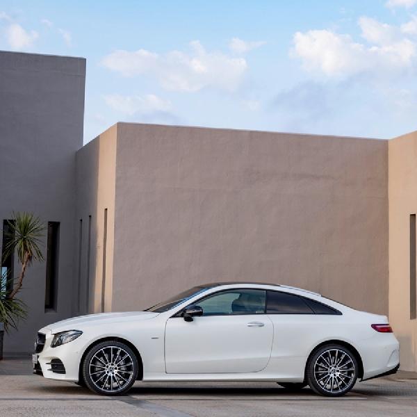 E-Class Coupe-Cerminan Bahasa Desain Terbaru Mercedes-Benz