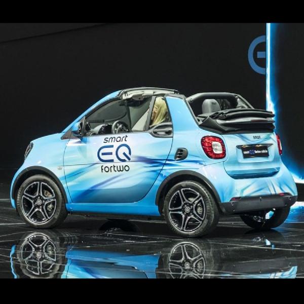 Mobil Elektrik Smart EQ Mejeng di Jenewa