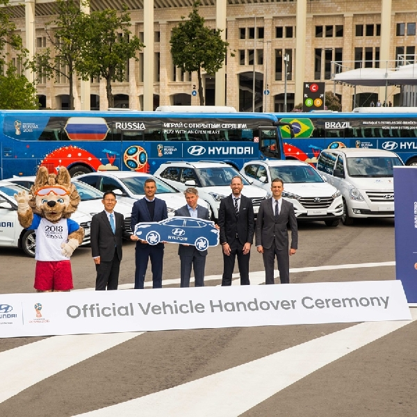 Hyundai Pasok Kendaraan untuk Piala Dunia 2018