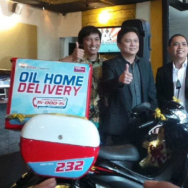 Shop And Drive Buka Layanan Oil Home Delivery (OHD) Wilayah Jabodetabek