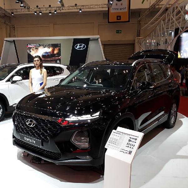 Hyundai Pasarkan Santa Fe Terbaru di GIIAS 2018