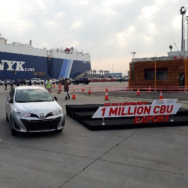 Toyota Indonesia Ekspor Lagi Produknya Ke Luar Negeri