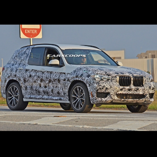 BMW X3 akan Memulai Debut di Frankfurt Motor Show