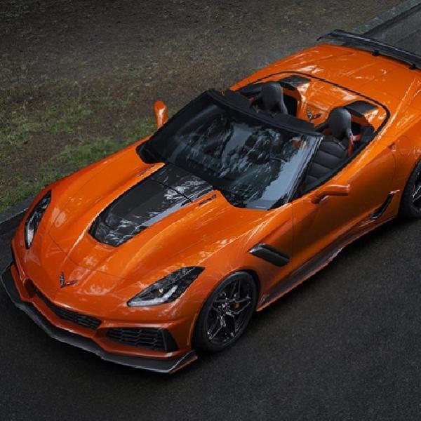 Nikmati Suara Corvette ZR1 Convertible Terbaru