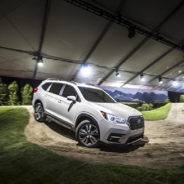 First Time, SUV Ascent  AWD Terbesar Sepanjang Sejarah Subaru
