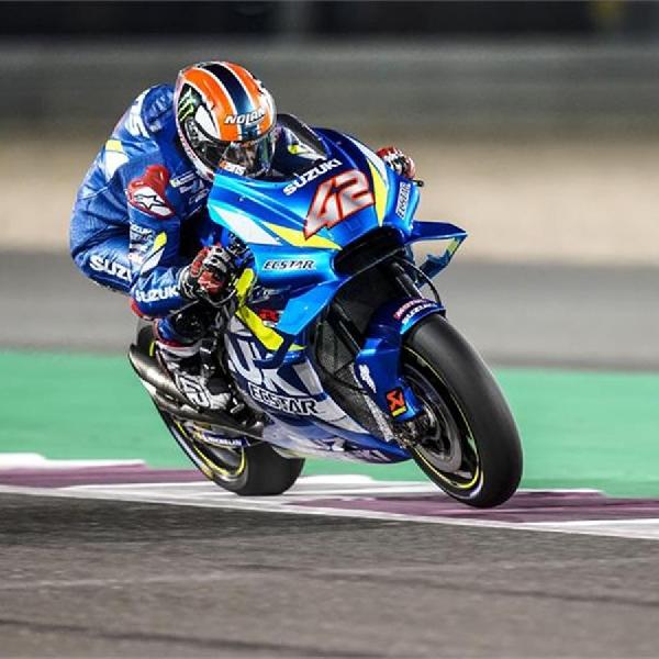 Hadapi GP Qatar, Alex Rins Cukup Optimis dengan Performa GSX-RR