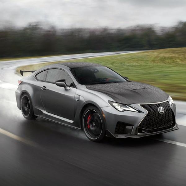 Lexus RC F versi Track Edition Mengilhami Varian Lain Beradu di Trek