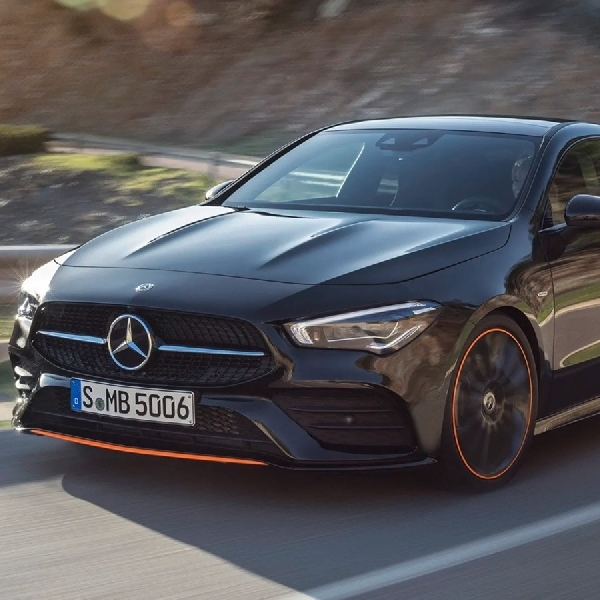 Intip Tampilan Mercedes-Benz CLA 2020
