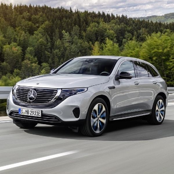 Mercedes-Benz Akan Produksi EQC dalam Jumlah Terbatas