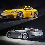 Harga Porsche 718 Boxster Spyder dan 718 Cayman GT4 diatas USD90 ribu