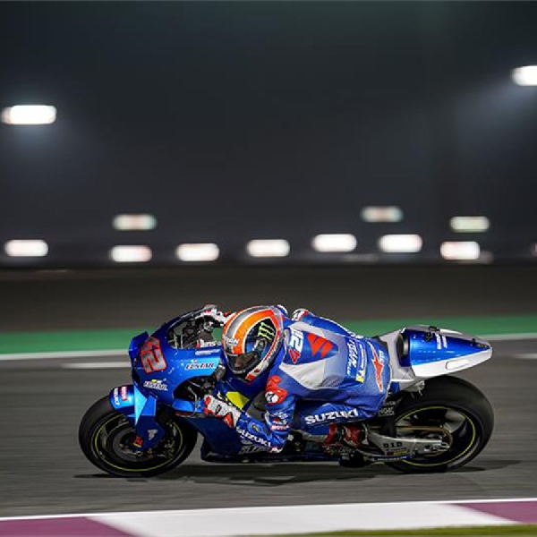 Angin Segar Buat Tim Suzuki Ecstar di Tes Losail Qatar, Rins dan Mir Jadi yang Tercepat