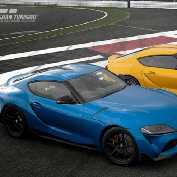 Toyota Supra 2020 Hadir di Gran Turismo Sport