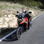 Suzuki V-STROM 1050XT Digeber Rins Bersama Awak Media di Malaga