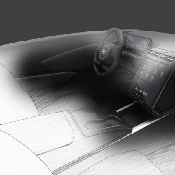 Hyundai Ungkap Interior Tucson 2021