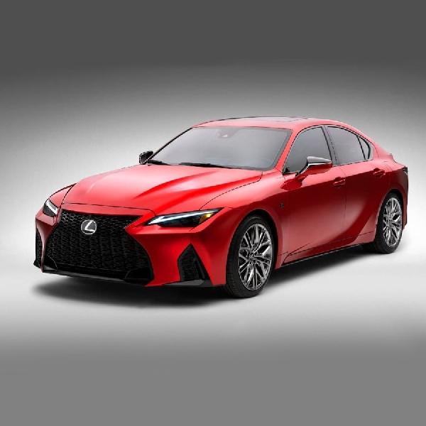 Lexus IS 500 F Sport 2021 Mengadopsi mesin 5,0L V8
