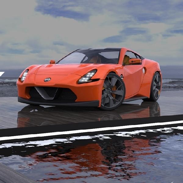 Begini Desain All New Nissan 400Z ala Seniman Digital Adan Lopez