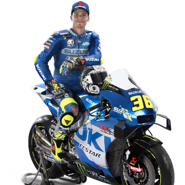MotoGP: Tim Suzuki Ecstar Luncurkan Motor dengan Livery Baru