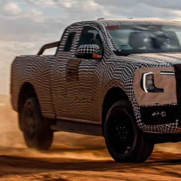 Teaser Ford Ranger 2022 Terungkap, Akan Datang Tahun Ini