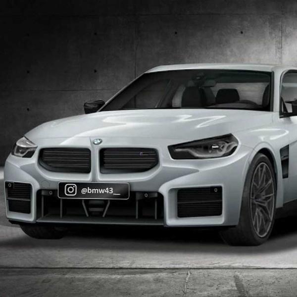 Beredar Bocoran Gambar Bumper Depan BMW M2 2023