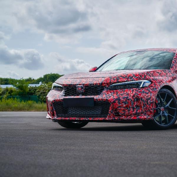 Sehari Setelah Diumumkan, Prototipe Honda Civic Type R 2022 Terungkap