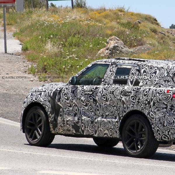 New Range Rover Sport SVR Mulai Terungkap Wajahnya