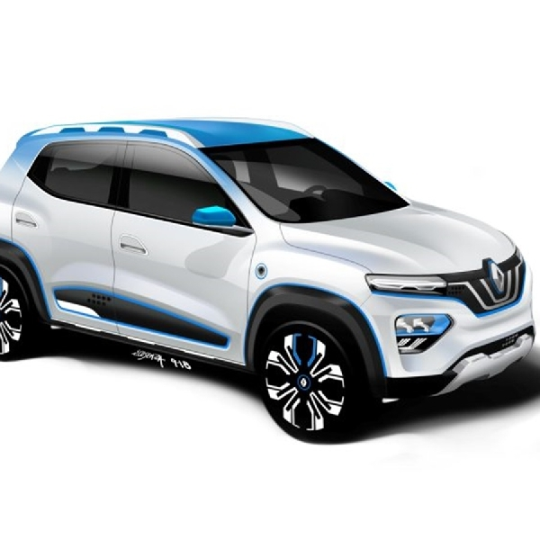 Renault Perkenalkan Crossover K-ZE