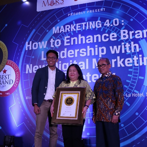 AHM Raih Indonesia Best Brand Award 2019