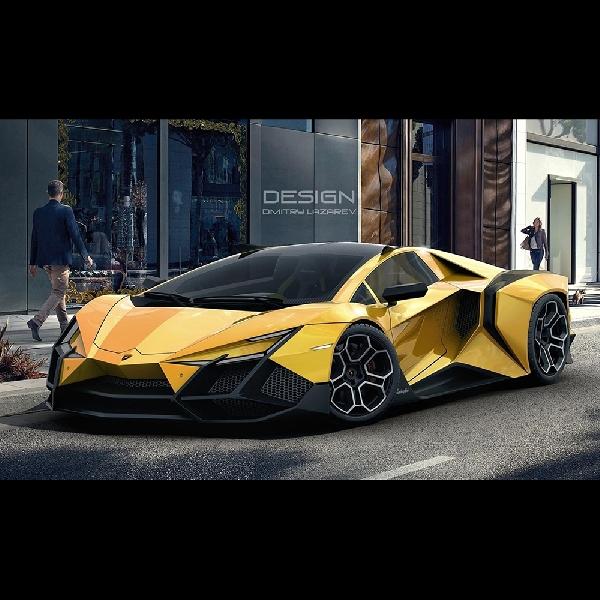 Imaginasi Liar Berbentuk Lamborghini Forsennato