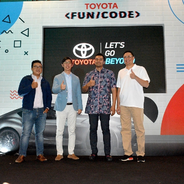 Kembangkan Dunia IT, Toyota Gelar Toyota/Fun Code