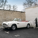 Inilah Konsep Mobil Listrik Aston Martin DB6 Mendatang
