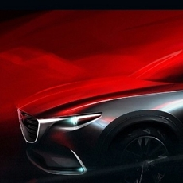 Mazda Mulai Goda All New CX-9 Lewat Sketsa
