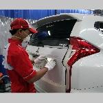 Fasilitas Bodi dan Cat Mitsubishi Kini Ada Di Balikpapan