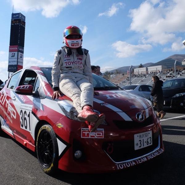 Pembalap TTI Alinka Hardianti Raih Hasil Positif di Final Race Toyota Gazoo 2018