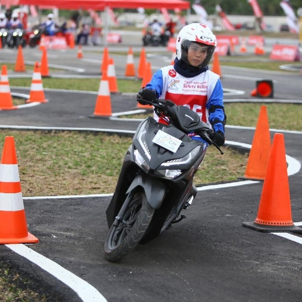 AHM Gelar Kompetisi Safety Riding