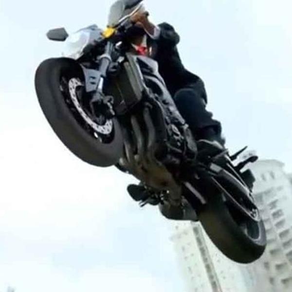 Sejak Kapan Yamaha FZ1 Dipakai Paspampres?