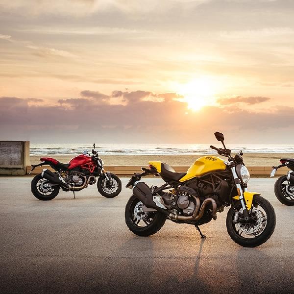 Monster 821 Jadi Lini Ducati Pertama Model 2018